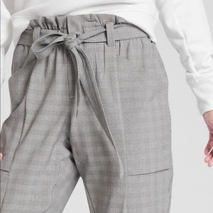 Athlete Plaid Skyline Pant